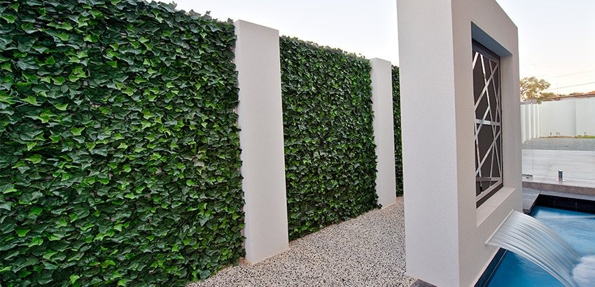 High Quality Artificial Pool Side Ivy Wall
