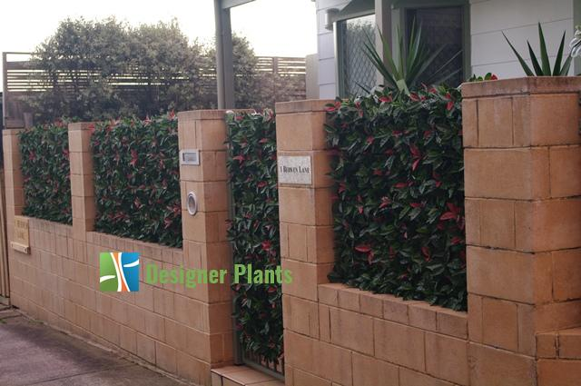 Fake Hedge Panels - Easily assembled DIY