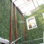 Artificial Plant Wall in a newly design home