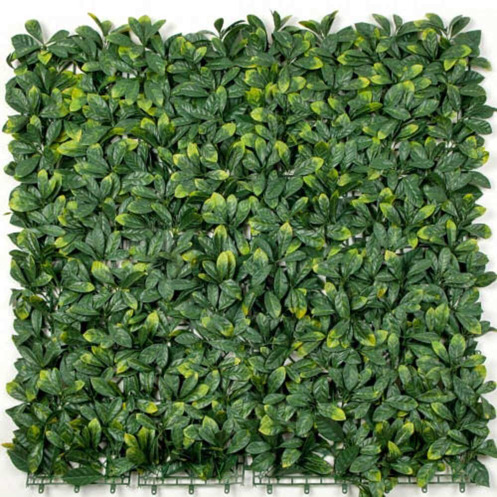 Laurel Artificial Hedge Panels UV Resistant 1m x 1m