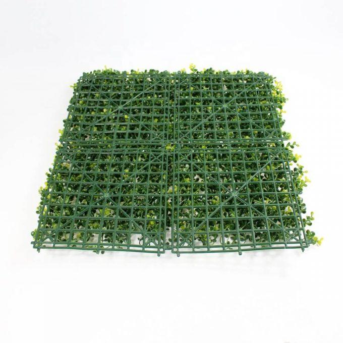 Artificial fake yellow buxus hedge panel