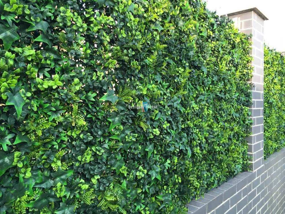 Spring Sensation Uv Green Wall 1m X 1m