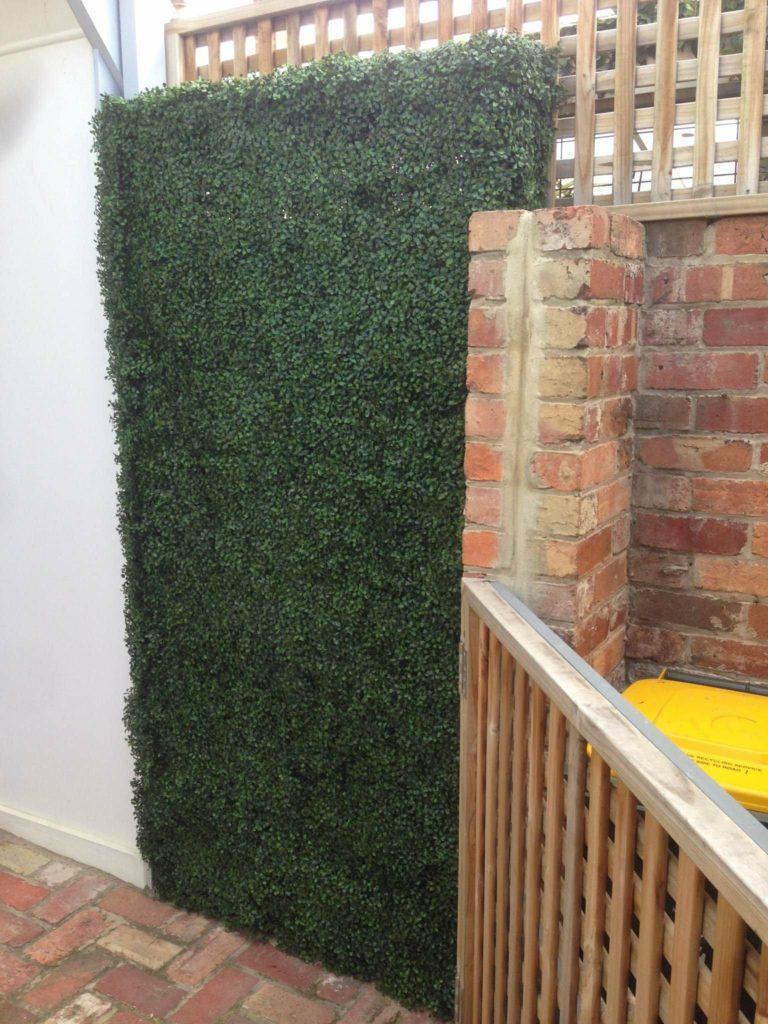 outdoor artificial green wall