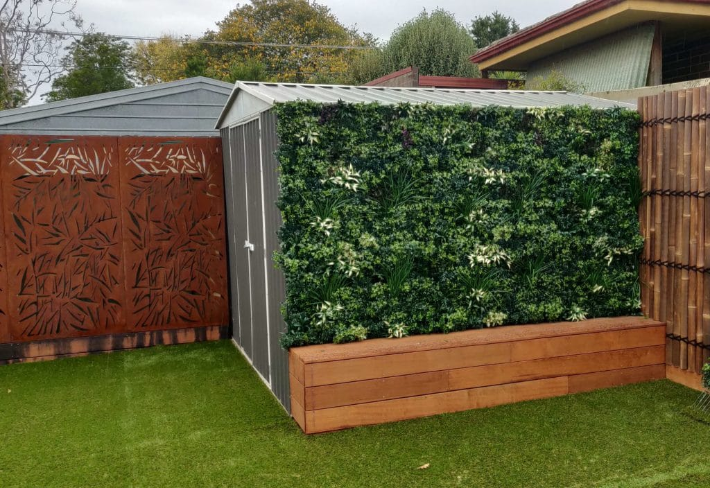 artificial luxury evergreen wall