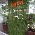 Artificial hedges used for events and shop displays