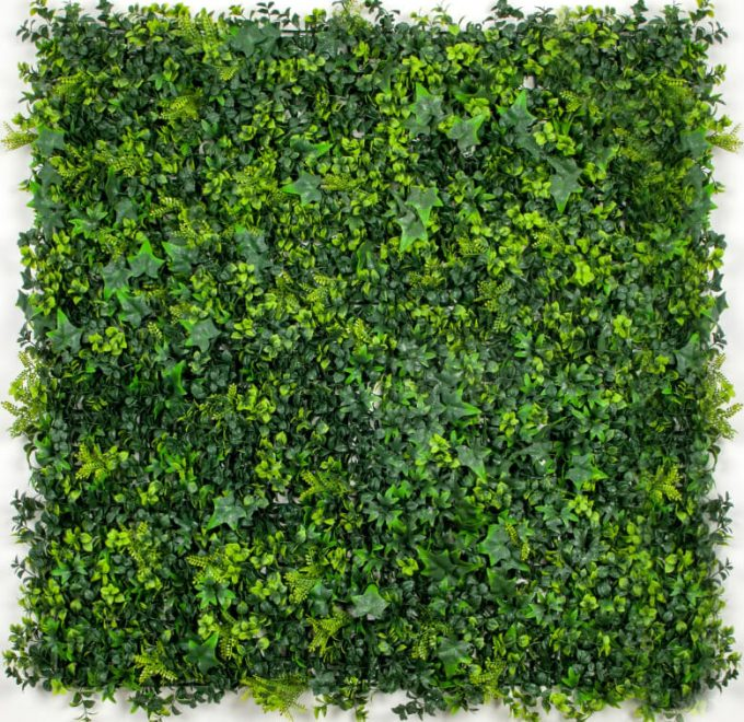 Artificial Green Wall Hedge Panel Spring Sensation