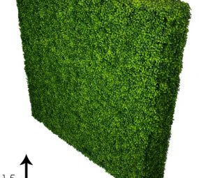 Large hedges for functions and events