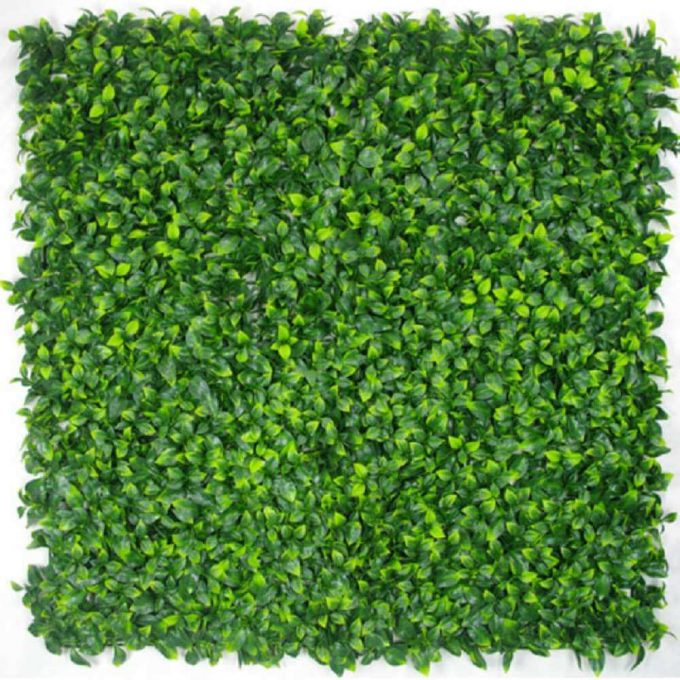 Artificial Green Wall Hedge Panels