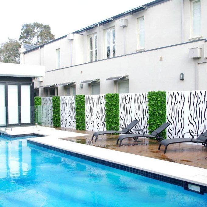 Artificial Plant - Lavandula Vertical Garden / Green Wall UV Resistant 1mx1m