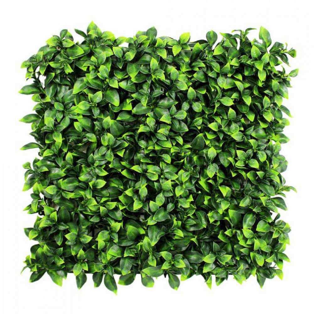 fake artificial jasmine hedge panel