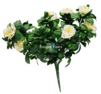 Fake White Roses