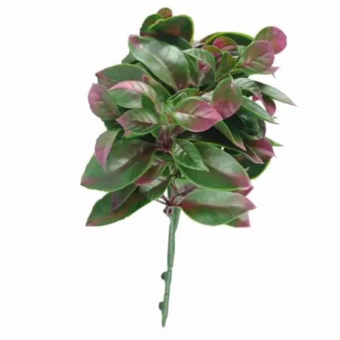 Artificial Plants - Purple and Green Jasmine Stem UV Resistant 25cm
