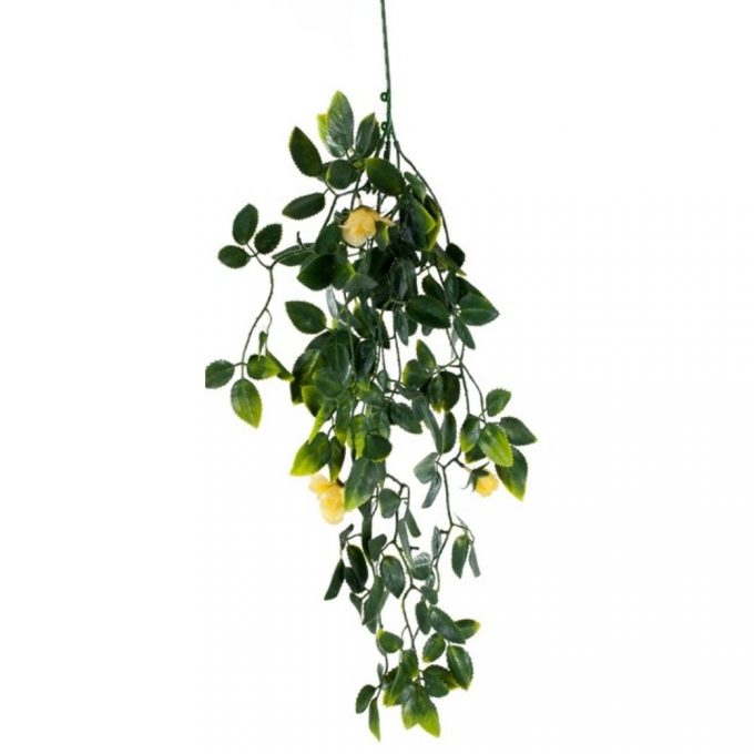 Artificial Plant-Yellow Mixed Hanging Foliage UV Resistant 60cm