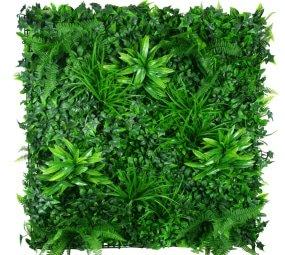 Stunning green wall and vertical garden