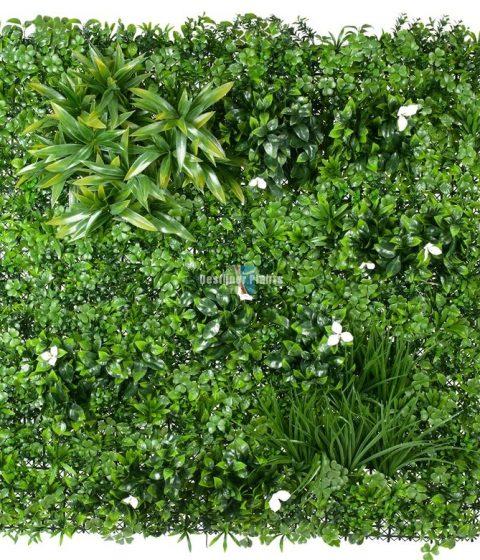 White Oasis Vertical Garden Wall Designer Plants