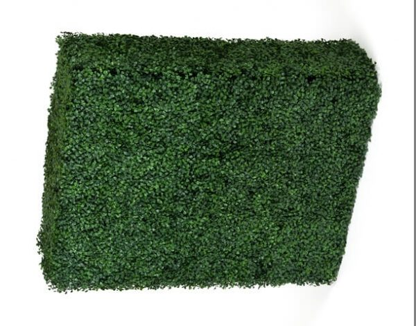 Realistic artificial boxwood hedge