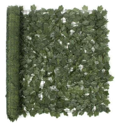 Artificial Plant-Artificial Ivy Leaf Hedging 3m x 1m Roll (Fake Ivy Roll)