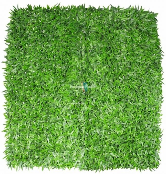 Mondo Grass Panel 1m x 1m Green Wall