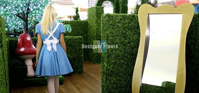 Artificial greenery events