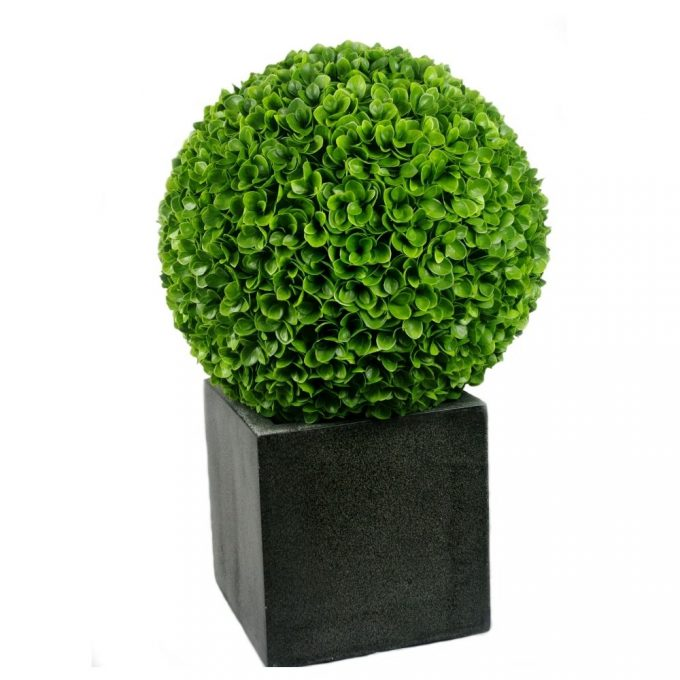 Artificial Plant-High Quality, Topiary Balls – 48cm + Leaves.