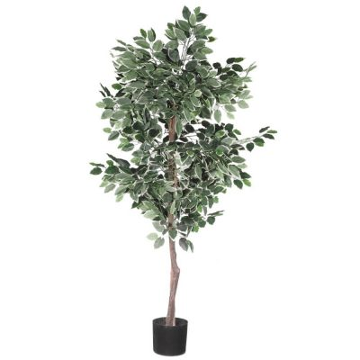 120cm fake ficus tree with pot