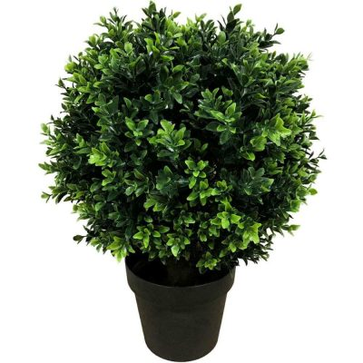 50cm Artificial Hedge Shrub Plant
