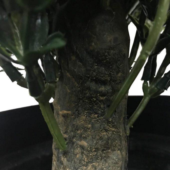 trunk of artificial shrub