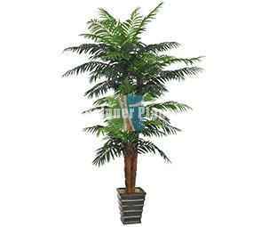 Large fake palm tree