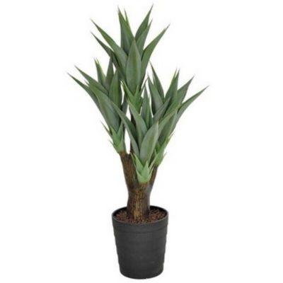 fake multi stem agave plant