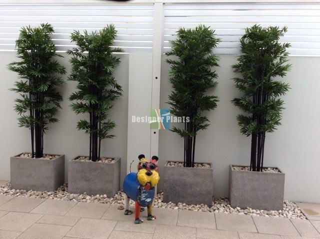 High Quality artificial black bamboo.