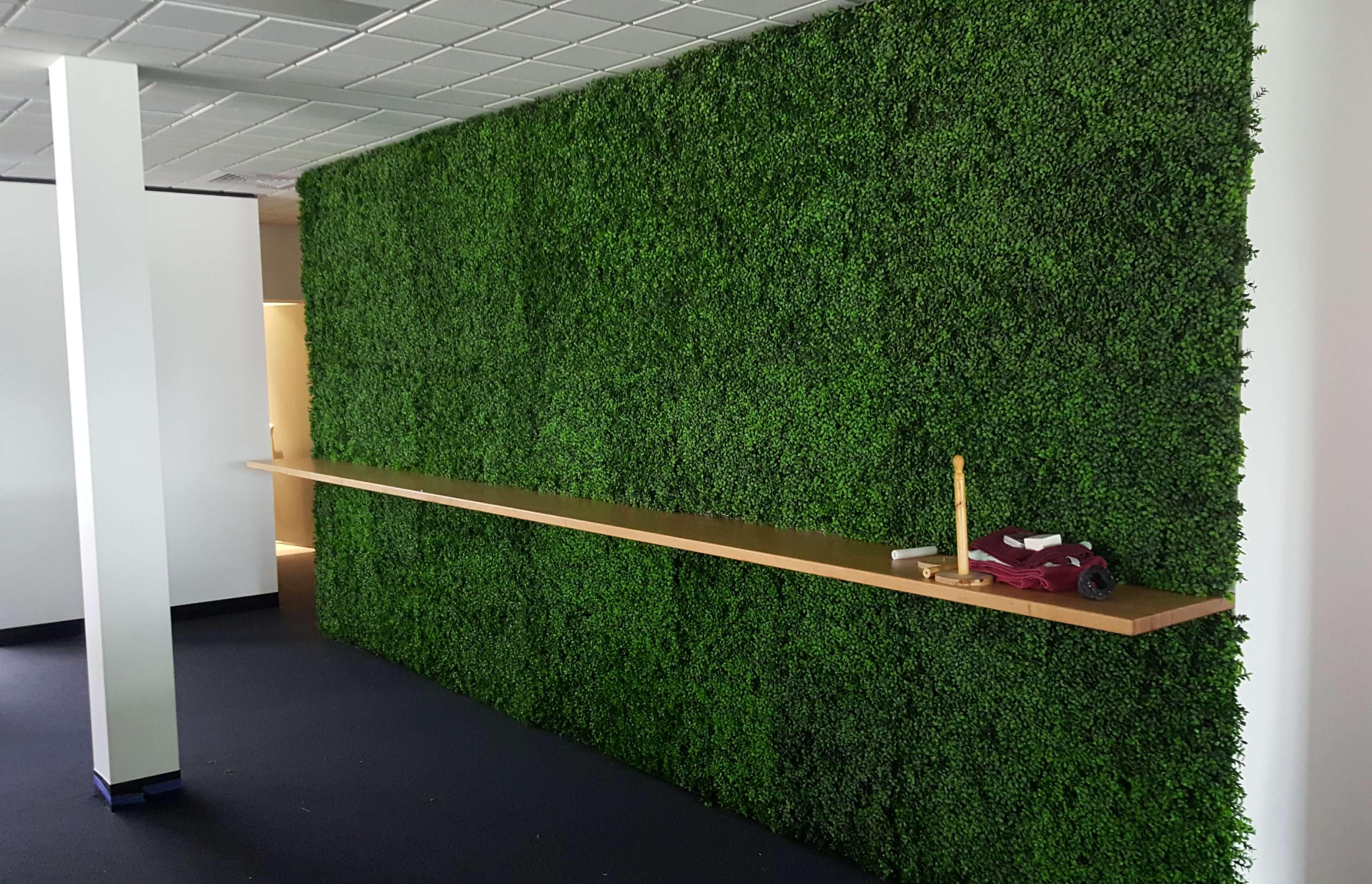 Vertical Garden Green Wall Disk Landscaped