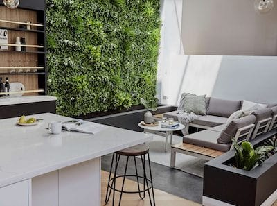 Elegant Feature Wall by Designer Plants