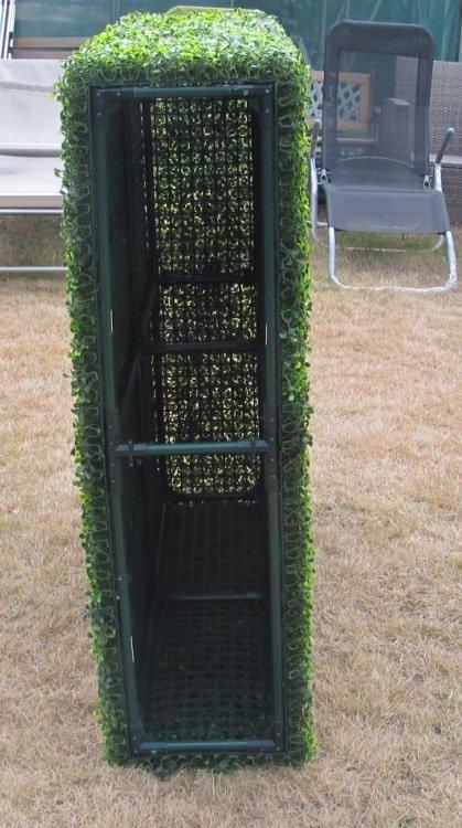 Artificial Plant-Deluxe Portable Buxus Hedge UV Resistant 100cm Long x 50cm High
