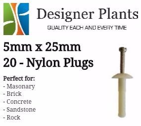 Nylon Plug Installation Kit for Green Walls