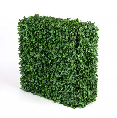 Lightweight UV Artificial Rose Hedge