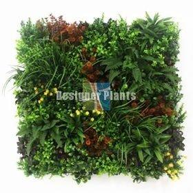 Fire retardant vertical garden green wall