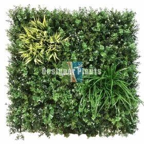 Fire retardant vertical garden green walls