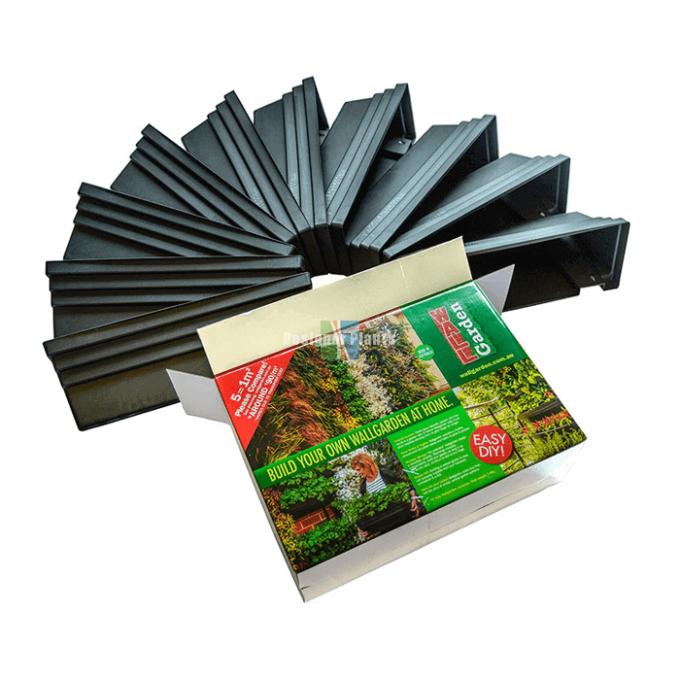 Vertical wall garden kit - 10 modules