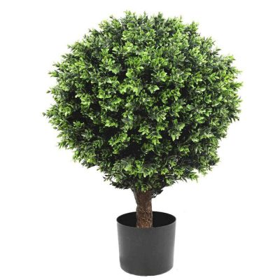 artificial topiary shrub 80cm high