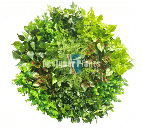 Artificial Garden Circle Wall