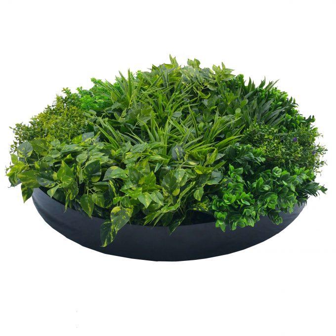 Artificial Green Wall Disk 100cn