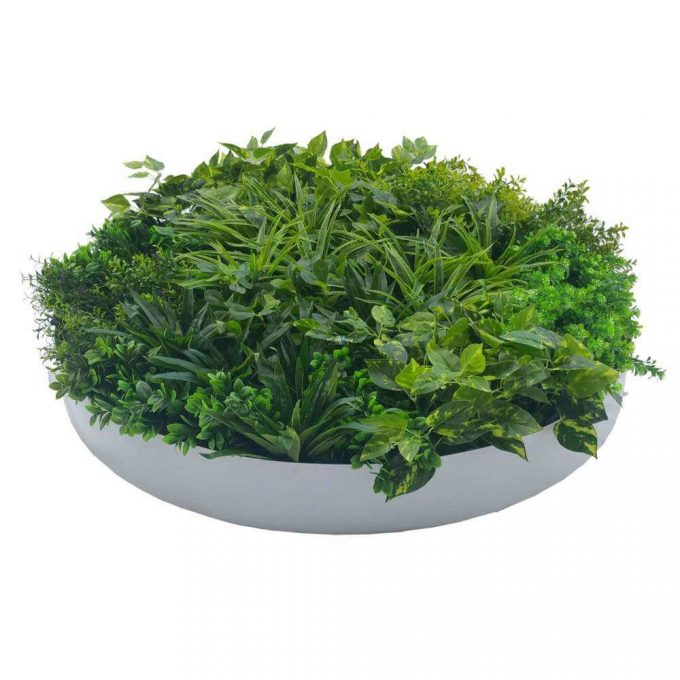 Artificial Green Wall Disk 100cn