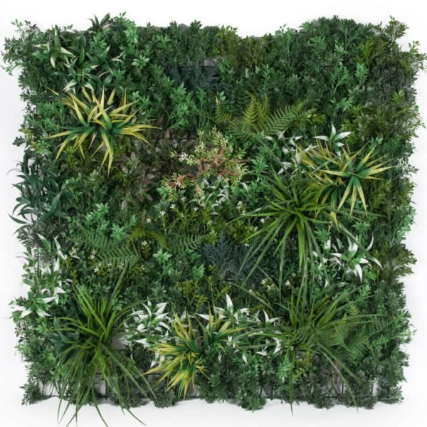 Fake vertical garden panel - artificial green wall premium panel