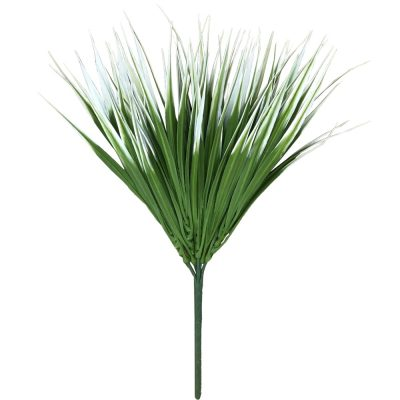 fake plants White Tipped Grass Stem UV Resistant 35cm