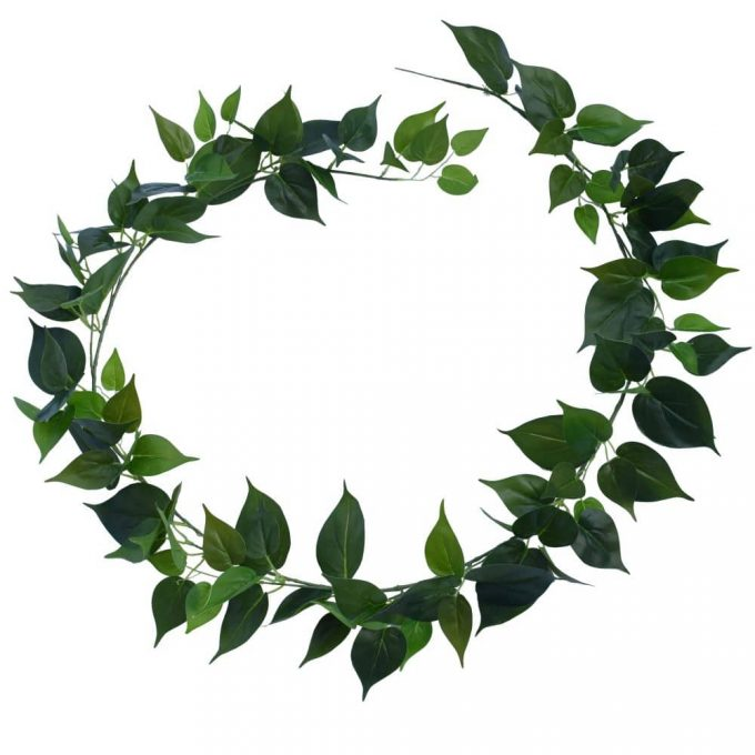 fake plants Long Philodendron Garland 190cm