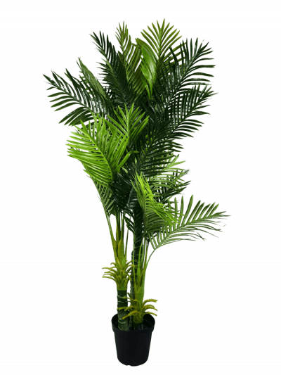 Multi trunk artificial hawaii palm tree