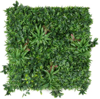 Artificial green wall with variation