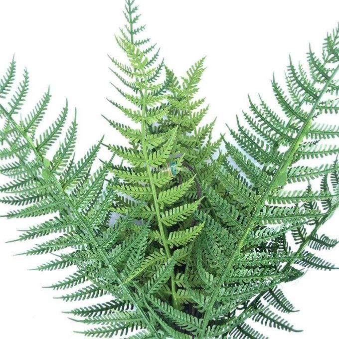 Artificial UV Boston fern stem