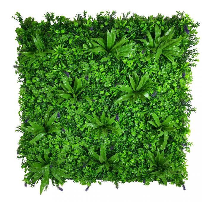 Artificial Plants-Lavandula Vertical Garden / Green Wall UV Resistant SAMPLE