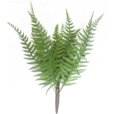 dark green uv fern stem